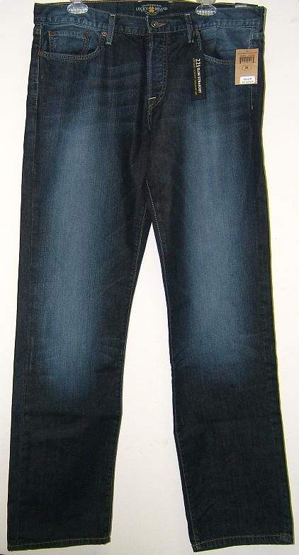 Lucky Brand Mens 221 Slim Straight Jeans Cayman