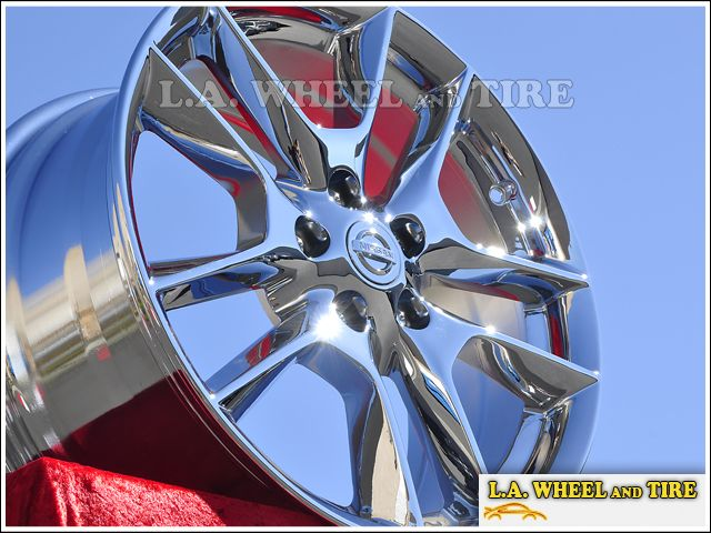 New 18 Nissan Maxima Chrome Wheels Rims Exchange