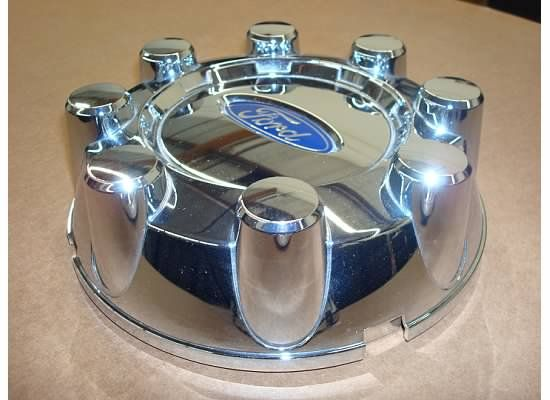 Ford F250 F350 Center Cap Chrome Factory Hub Wheel Cover 08 09 10 Rear