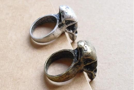 AG4627 New Fashion Jewelry womens bird skull Rings,gold rings size 4