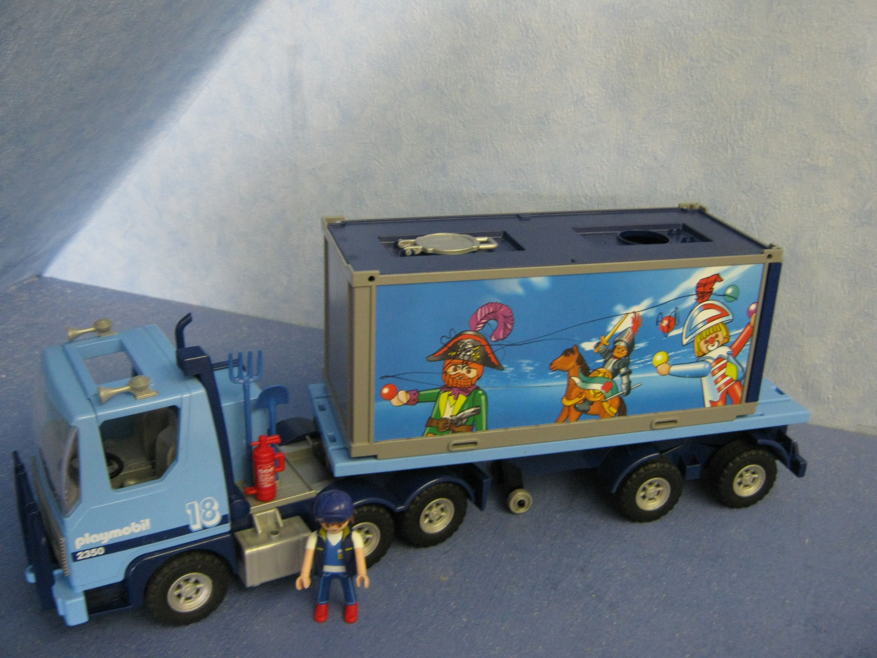 4068 LKW Happy Birthday Truck + Figur Playmobil 259